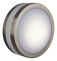 Firstlight Low Energy Bulkhead Wall Light Stainless Steel with Polycarbonate Diffuser 6411ST