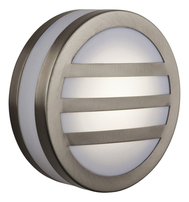 Firstlight Low Energy Bulkhead Wall Light Stainless Steel with Polycarbonate Diffuser 6422ST