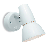 Firstlight Lynx 100 Single Spot (Switched)  White 5521WH