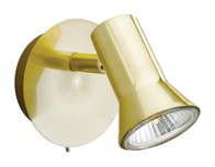 Firstlight Magnum Single Spot Brushed Brass 6090BB