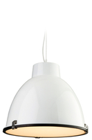 Firstlight Manhattan Pendant 8621WH White with Frosted Glass