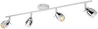 Firstlight Marine 4 Light Bar White with Chrome 8204WH
