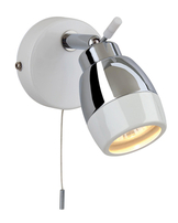 Firstlight Marine Single Spot White with Chrome 8201WH