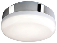 Firstlight Mini Hydro LED Flush Fitting Chrome with White Polycarbonate Diffuser 3432CH