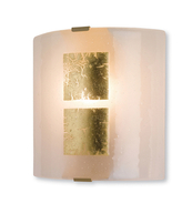 Firstlight Murano Wall Light Gold Leaf on Murano Glass 4251GO