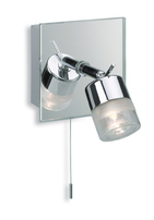 Firstlight Ocean Single Spot Chrome with Mirror Glass 6095CH