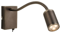 Firstlight Orion LED Flexi Wall Light Switched Bronze 3454BZ