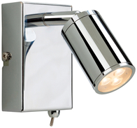 Firstlight Orion LED Wall Light Switched Chrome 3453CH