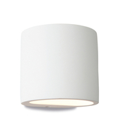 Firstlight Plaster Wall Light Uplight & Downlight 8321