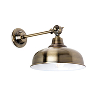 Firstlight Preston Wall Light Antique Brass 5934AB