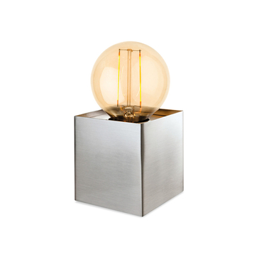 Firstlight Richmond Table Lamp Brushed Steel 5926BS image 1