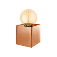 Firstlight Richmond Table Lamp Brushed Copper 5926CP
