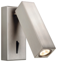 Firstlight Solo LED Light Wall Switched Brushed Nickel 3455BN