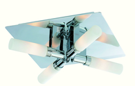 Firstlight Spa 4 Light Flush Chrome with Opal Glass 5755CH