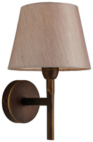 Firstlight Transition Wall Light Bronze with Oyster Shade 8217BZOY