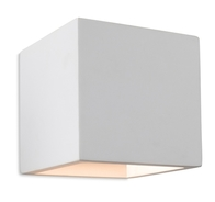 Firstlight Troy Plaster Wall Light White 4902