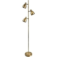 Firstlight Vogue Floor Lamp Antique Brass 3468AB