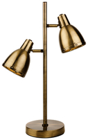 Firstlight Vogue Table Lamp 3467AB Antique Brass