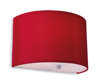 Firstlight Zeta Wall Light 8631REWH Red with White Inside