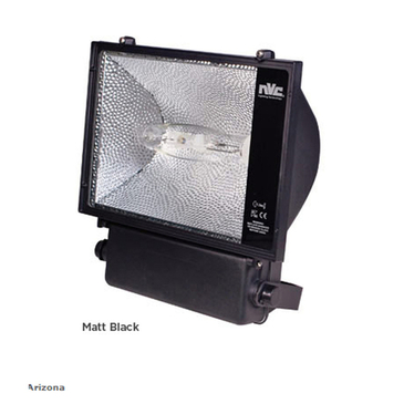 Floodlight 400w Metal Halide Black Nvc Arizona Naz400hqi T 740