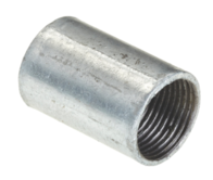 Galvanised Solid Coupler