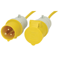 Gewiss 110v 16A Site Extension Lead 6 metre length
