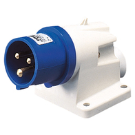 Gewiss Wall Mounting Appliance Inlet IP44 16A 2P & E 240V GW60404