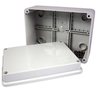 Gewiss Weatherproof Enclosure IP56 Rated 120x80x50mm GW44205