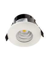 Greenbrook Vela Compact Fixed LED Dimmable Downlight - White - LEDDLC3000W