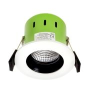 Greenbrook Vela  IP65 Fire Rated Anti-Glare LED Dimmable Downlight - White - ADVAG4000W