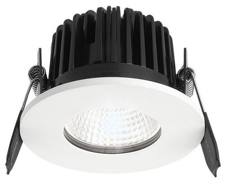 Greenbrook Vela  IP65 Fire Rated Fixed LED Dimmable Downlight - White - ADV3000W