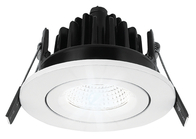 Greenbrook Vela  IP65 Fire Rated Tilt LED Dimmable Downlight - White - ADVT4000W