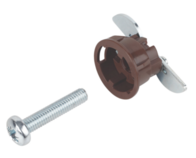 GripIt Type 20mm Plaster Board Fixing Type 20-2 Brown Pack 4