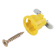 GripIt Type 15mm Plaster Board Fixing Type 13-2 Yellow Pack 4