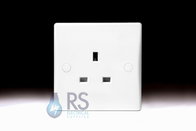 GU3050 - Schneider Ultimate Slimline 13a Single Unswitched Socket
