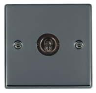 Hamilton Hartland Black Nickel 1G Retractive Toggle Switch 78TRT