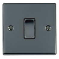 Hamilton Hartland Black Nickel 1G Trailing Edge Slave Touch Multi-Way Dimmer 781XTSBK-B