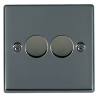 Hamilton Hartland Black Nickel 2G Trailing Edge Dimmer 782XTE