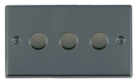 Hamilton Hartland Black Nickel 3G Trailing Edge Dimmer 783XTE