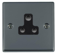 Hamilton Hartland Black Nickel 5A Unswitched Socket 78US5B