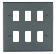 Hamilton Hartland Black Nickel 6G Grid Plate 786GP