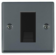 Hamilton Hartland Black Nickel Module Secondary Telephone Socket 78EURO1BTS