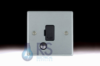 Hamilton Hartland Satin Chrome Unswitched Spur Flex Outlet 76FOC