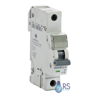 Havells Powersafe Single Pole MCB 16 Amp B Type 10kA PSH116B