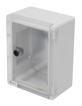 Insulated ABS Enclosure 280 x 210 x 130mm Clear Door PBE2821013C