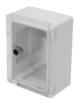 Insulated ABS Enclosure 330 x 250 x 130mm Clear Door PBE332513C