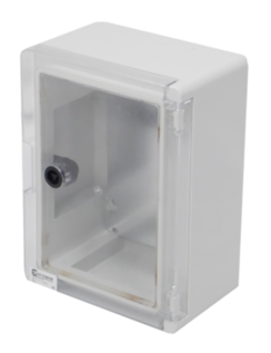 Insulated ABS Enclosure 400 x 300 x 165mm Clear Door PBE4030016C