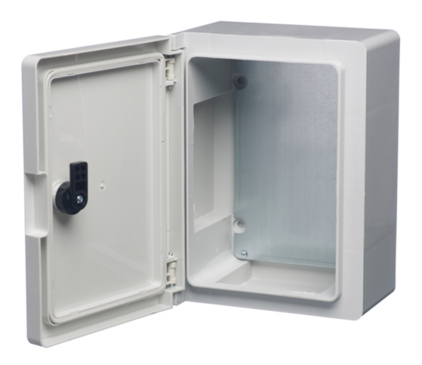 Insulated ABS Enclosure 500 x 350 x 195mm Clear Door PBE503519C