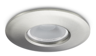 JCC FGLED10 Dimmable Brushed Nickel Downlight Cool White JC94501BN
