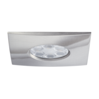 JCC FGLED6 Square Dimmable LED Downlight Cool White JC94573BN Brushed Nickel